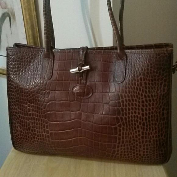 743cac9d67c8 LONGCHAMP Handbags - LONGCHAMP LEATHER TOTE HANDBAG